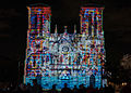 San Fernando Cathedral, San Antonio - Xavier de Richemont Light Show (2014-12-12 22.20.49 by Nan Palmero).jpg