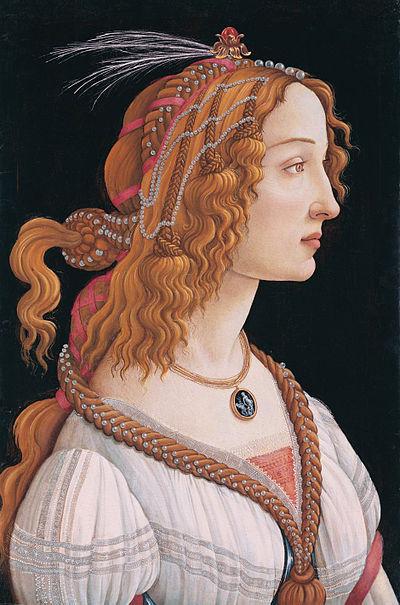 Archivo: Sandro Botticelli - retrato de una mujer joven - WGA2796.jpg