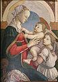 Sandro botticelli, madonna col bambino e un angelo ispirato alla lippina, 1465-66.JPG
