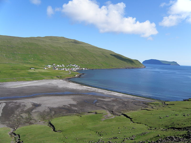 File:Sandvík a Village in Suðuroy, Faroe Islands.JPG