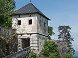 Sankt Georgen am Längsee Burg Hochosterwitz 05 Löwentor 01062015 4258.jpg