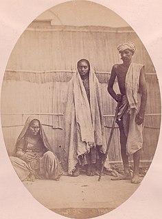 Sansi people Nomadic tribe from Rajasthan, India