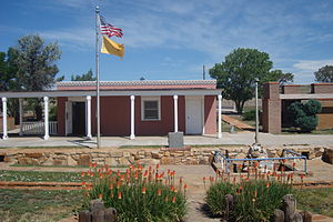 Santa Fe Trail - A rest stop along the Santa Fe Trail.