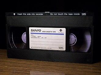 Funai - A Sanyo-branded VHS tape