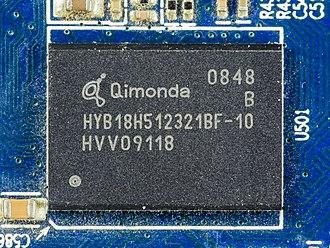 Qimonda - Qimonda 512 Mbit GDDR3
