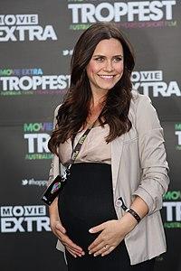 Saskia Burmeister at Tropfest 2012.jpg
