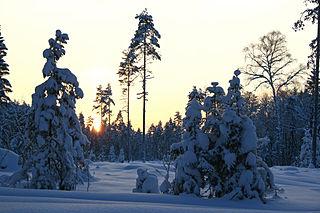 Nõmmeri Village in Harju County, Estonia