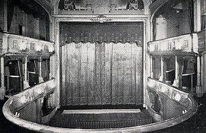 Savoy Theatre - Original interior of Savoy Theatre, 1881