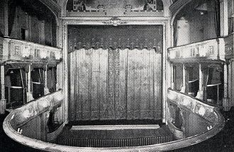 Savoy Theatre - Original interior of Savoy Theatre, 1881
