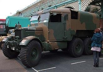 Scammell - 1939 Scammell R100 artillery tractor