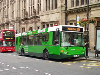 Nottingham City Transport - Scania OmniTown in September 2007
