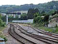 Scarborough Excursion railway station (site), Londesborough Road (geograph 5813916).jpg