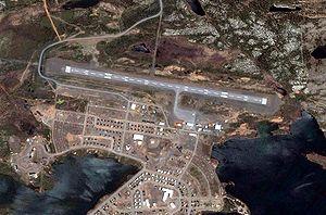 Schefferville Airport - Image: Schefferville Airport