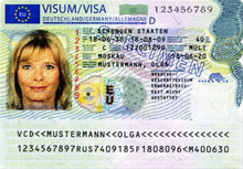 Visa Policy Of The Schengen Area Wikipedia