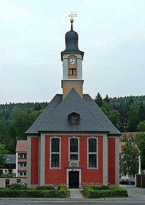 George Bähr - Image: Schmiedeberg Die Kirche zur Heiligen Dreifaltigkeit geograph.org.uk 8403