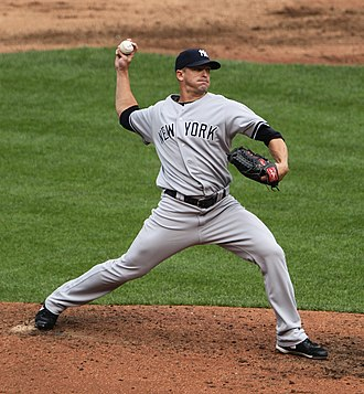 Scott Proctor - Proctor pitching for the New York Yankees in 2011