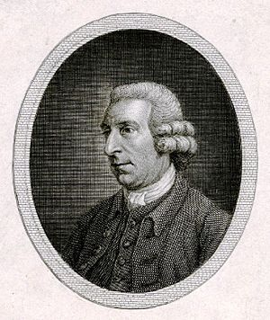 John Scott of Amwell - A portrait engraving for the title page of Scott's Poetical Works, 1782
