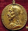 Scuola romana sotto giulio II, medaglia di cristo.JPG