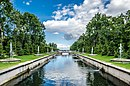 Sea canal of the Lower Park of Peterhof.jpg