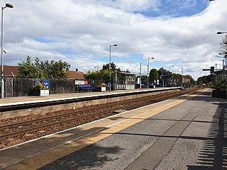 Seaham railway station Railway station in County Durham on the Durham Coast Line