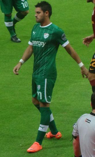 Sebastián Pinto - Pinto with Bursaspor in 2012
