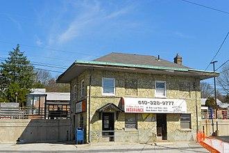 Secane, Pennsylvania - Secane SEPTA station 2015