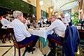 Secretary Kerry Enjoys a Lemonade With Ambassador DeLaurentis at the Restaurante Cafe del Oriente in Old Havana (19957246893).jpg