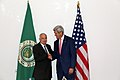 Secretary Kerry Meets With Arab League Secretary-General al-Araby (15239929915).jpg