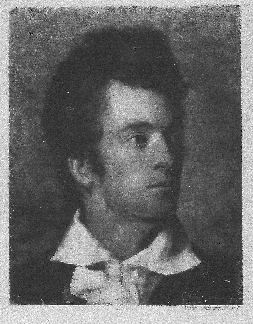 Self-portrait by George Catlin. Age 28