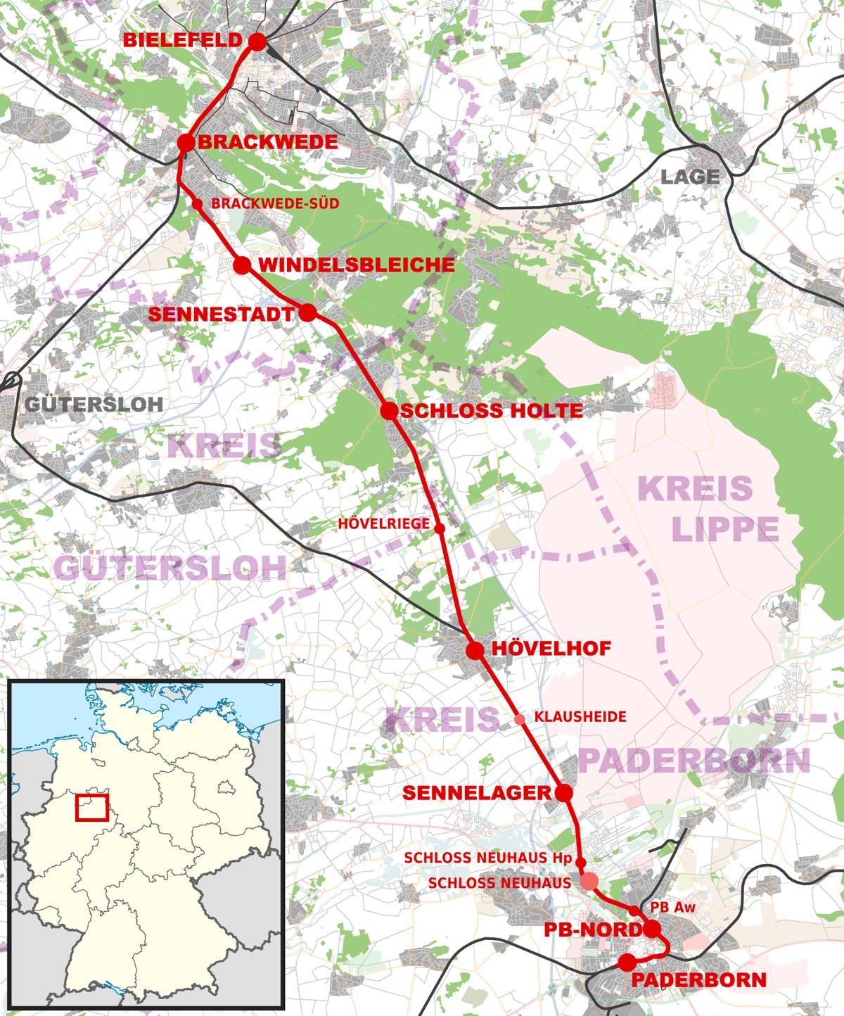 Senne Railway Wikipedia