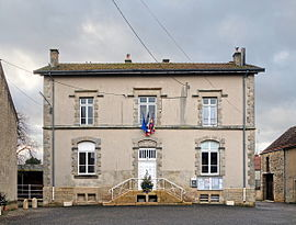 The town hall in Sennevoy-le-Bas