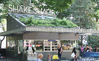 Shake Shack - The original Shake Shack located in Madison Square Park