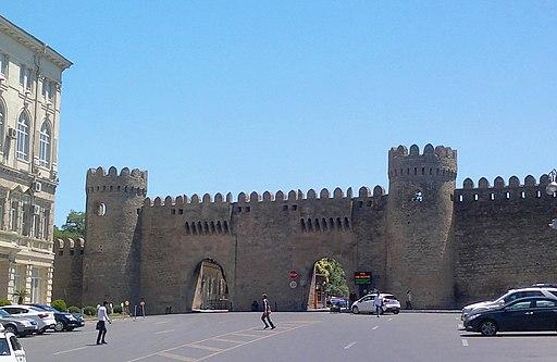 Shamakhi gates of the Fortress of Baku