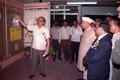 Shankar Dayal Sharma Visits Indian Heritage Exhibition - Dedication Ceremony - CRTL and NCSM HQ - Salt Lake City - Calcutta 1993-03-13 10.tif