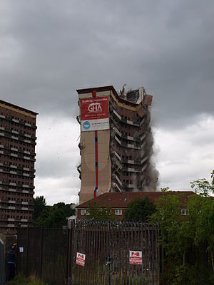 Shawbridge Flats Demolition