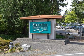 Shoreline Community College - Image: Shoreline Community College