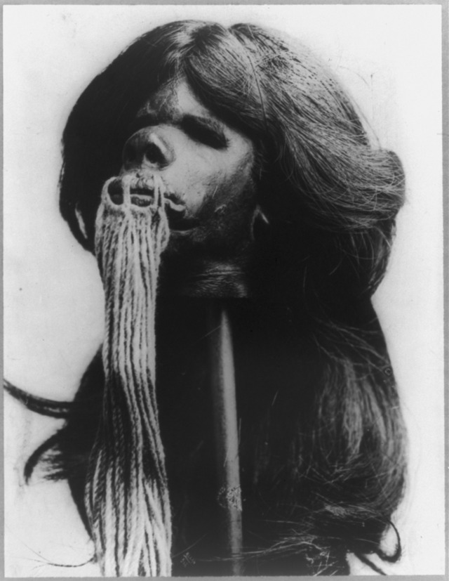 Shrunken head from Equador.TIF