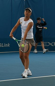 Shuai Peng at the 2009 Brisbane International.jpg