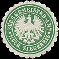 Siegelmarke Bürgermeister-Amt Much, Siegkreis W0383915.jpg