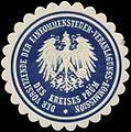 Siegelmarke Der Vorsitzende der Einkommensteuer-Veranlagungs-Kommission des Kreises Prüm W0345438.jpg