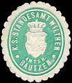 Siegelmarke Königlich Sächsisches Standesamt Wilthen - Amtshauptmannschaft Bautzen W0252151.jpg
