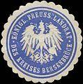 Siegelmarke K.Pr. Landrat des Kreises Bersenbrück W0391641.jpg