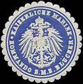 Siegelmarke K. Marine Kommando S.M.S. Blücher W0370787.jpg