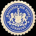 Siegelmarke Magistrat der Stadt - Lüneburg W0260178.jpg