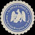 Siegelmarke St. Offizier der Luftschiffer-Truppen W0370621.jpg