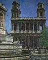Sigmund Sinding - Saint-Sulpice i Paris - Nasjonalmuseet - NG.M.01516.jpg