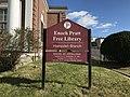 Sign, Enoch Pratt Free Library Hampden Branch (1900), 3641 Falls Road, Baltimore, MD 21211 (38033198694).jpg