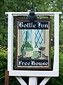 Sign for the Bottle Inn, Marshwood - geograph.org.uk - 1399114.jpg