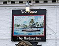 Sign on The Harbour Inn - geograph.org.uk - 702875.jpg
