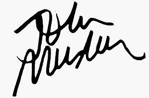 John Musker - Image: Signature John Musker